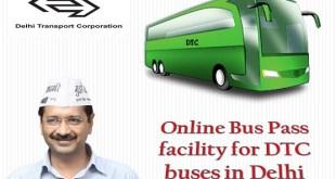 Online Bus Pass Delhi