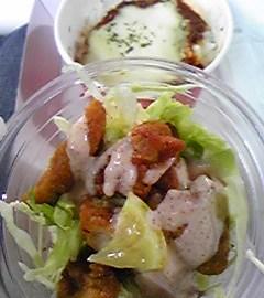 ミオミオのサラダパスタinヤフードーム