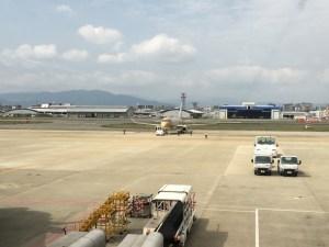 福岡空港滑走路FDA