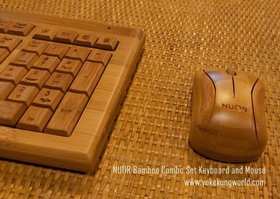 NUOR Bamboo Combo Set Keyboard and Mouse - 02
