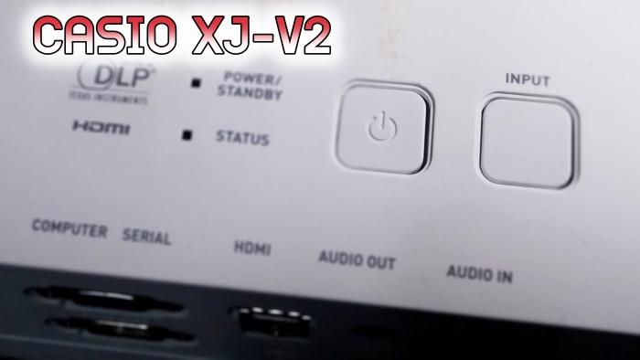 Projector CASIO XJ-V2