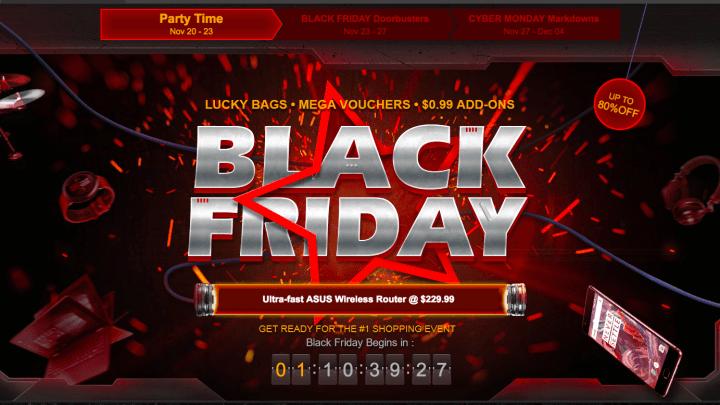 มาแล้ว โปร Black Friday ช้อปออนไลน์บน GearBest ลดกระหน่ำ