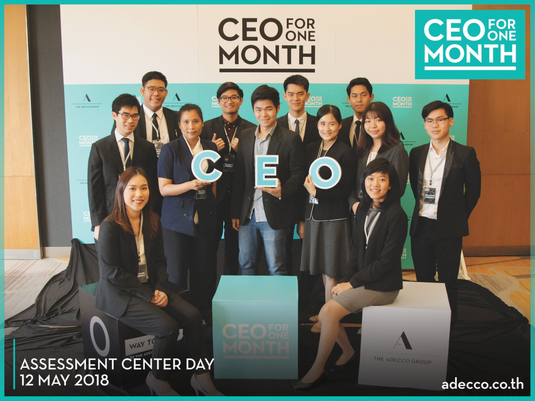CEO for ONE Month 2018 ประเทศไทย