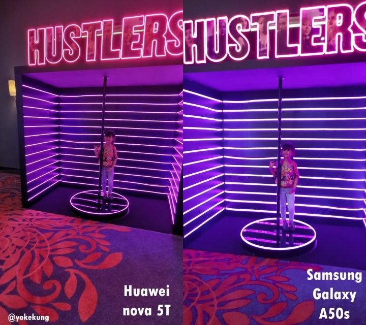 HUAWEI nova 5T vs Samsung Galaxy A50s compare photos