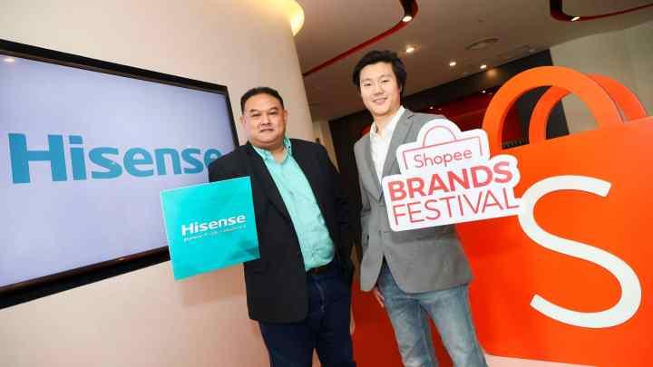 Hisense ผนึกกำลัง Shopee รับกระแสช้อปปิ้งออนไลน์โต พร้อมอัดโปรโมชั่นเด็ด ในแคมเปญ Hisense x Shopee Super Brand Day 31 พฤษภาคมนี้