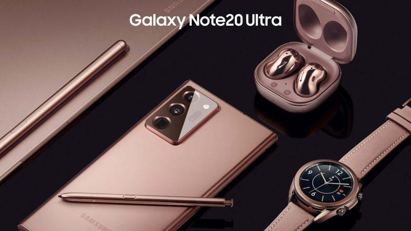 Galaxynote 20 ultra tabs7 plus budslive watch3