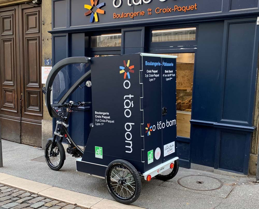 cargo bikes for local business delivery