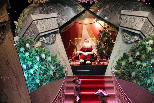 クリスマスのマンハッタンとDyker Heights