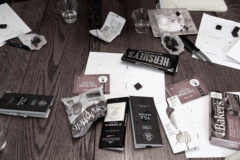 ベスとコラボの本格的手作りチョコレートのクラスを終えて