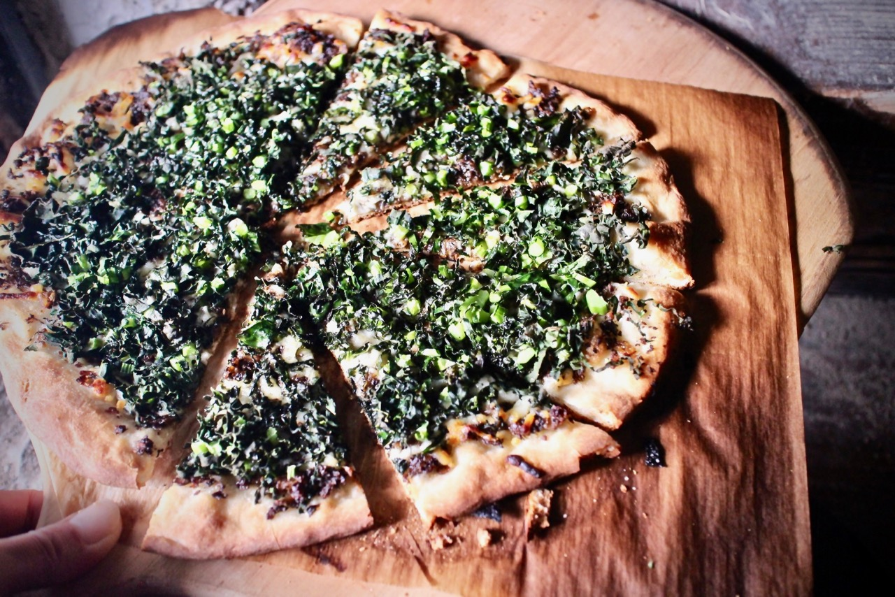 ピザ釜無しで作る本格的ピザ