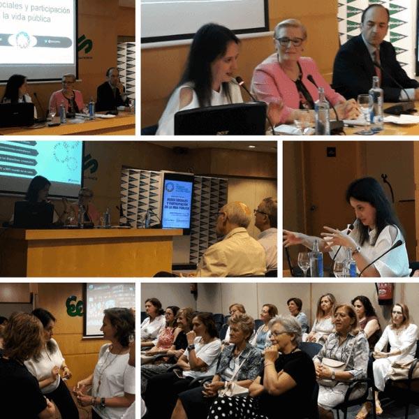 Redes sociales y participación en la vida pública en Foro Ciudadanía en Valencia
