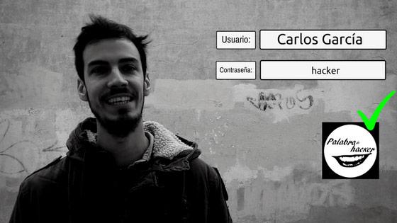 Carlos García entrevista en el canal de ciberseguridad Palabra de hacker