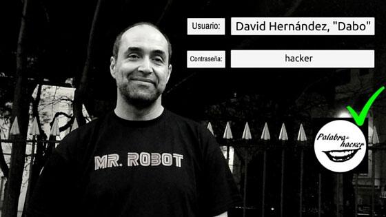 David Hernandez 'Dabo', entrevista en el canal Palabra de hacker.