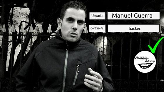 Manuel Guerra, entrevista en Palabra de hacker.