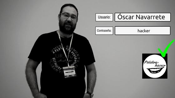 Óscar Navarrete entrevista en el canal de ciberseguridad Palabra de hacker