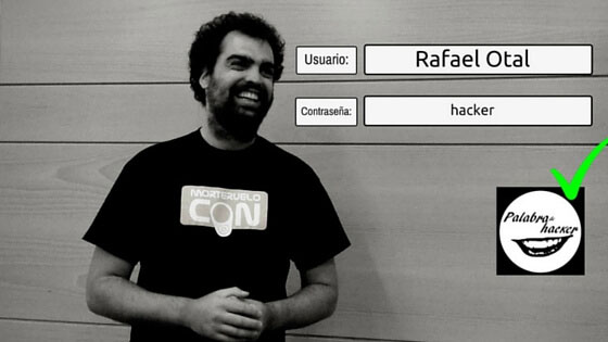 Rafael Otal, entrevista en Palabra de hacker.