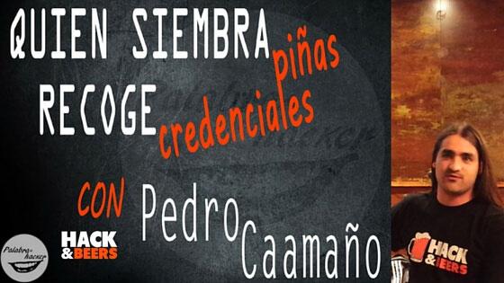 Piña WiFi, charla de Pedro Caamaño en Hack&Beers.