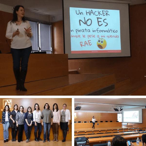 Women TechMakers Castellón participación como ponente.