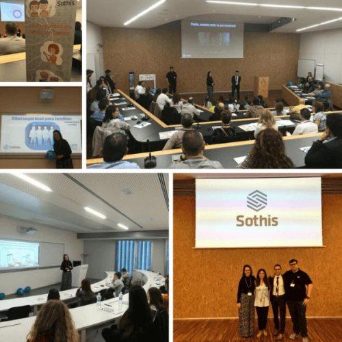 Participación en evento Ciberseguridad en familia 2018 organizado por Sothis