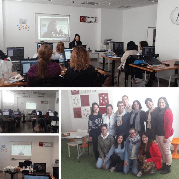 Taller de Alfabetización Digital en el CEDES Albocasser