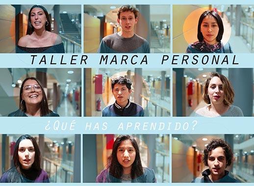 Taller de marca personal de Yolanda Corral en Universidad UCH - CEU