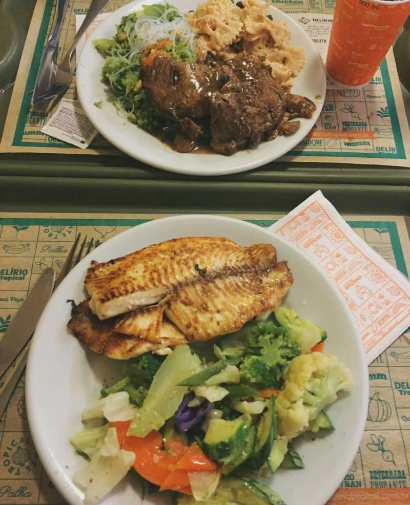 Delirio Tropical - Tam Bir Brezilya Yemeği