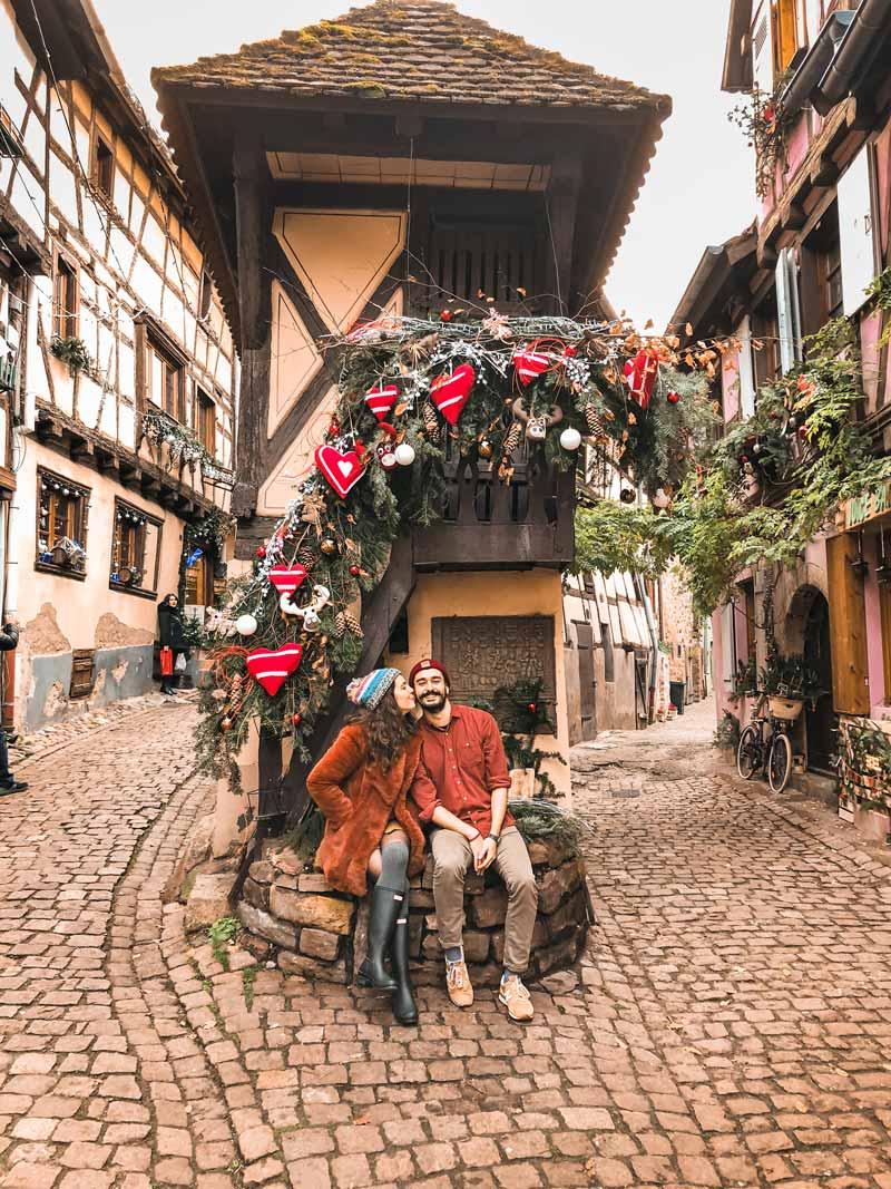 Alsace gezi rehberimizin en sevdiğimiz köyü Eguisheim oldu!