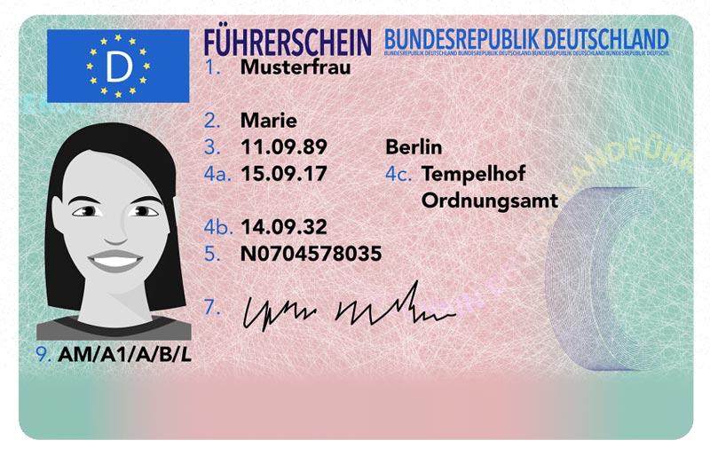 Almanya Ehliyet