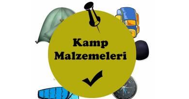 Kamp Malzemeleri