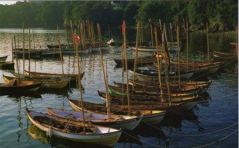 Yoles de Ness à Douarnenez 2000