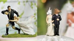 Kūrybingos vestuvinių tortų viršūnėlės cover