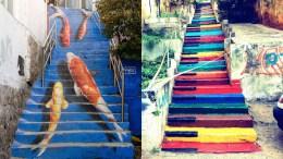 išradingiausi laiptai