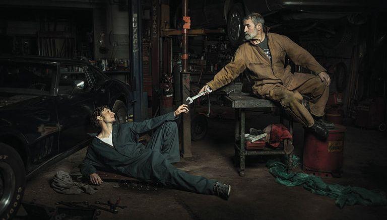 Auto-mechanikai atvaizdavo žymius Renesanso kūrinius (9 iliustracijos) (8)
