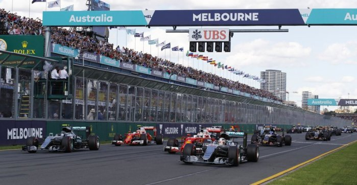 Formula One F1 Melbourne Australian Grand Prix 2018