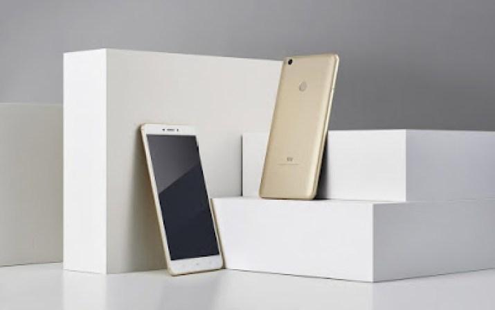 xiaomi mi max 2 with 5300mah battery capacity