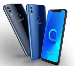 Alcatel 5V Launched With a Notched Screen, Dual Rear Camera, 4000mAh battery