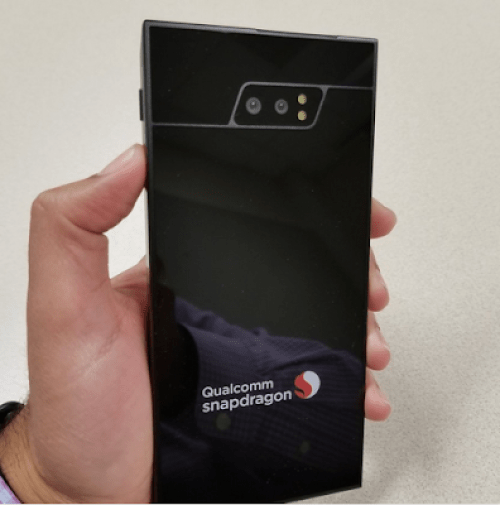 First world 5G smartphone