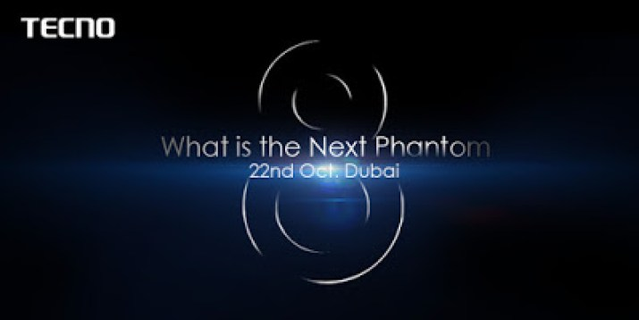 Tecno next event at dubai with the new phantom