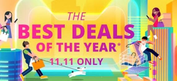 Massive discount for 11/11 promo sales