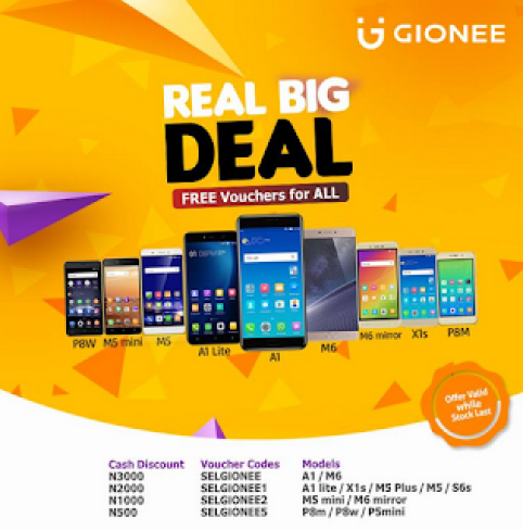 Gionee black friday deals