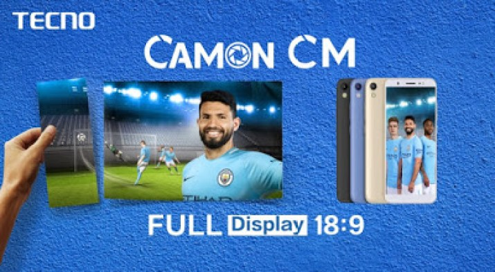 Camon CM full view display