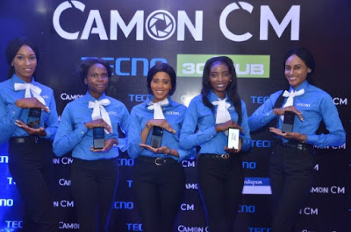 launch event of tecno camon cm