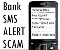 bank alert