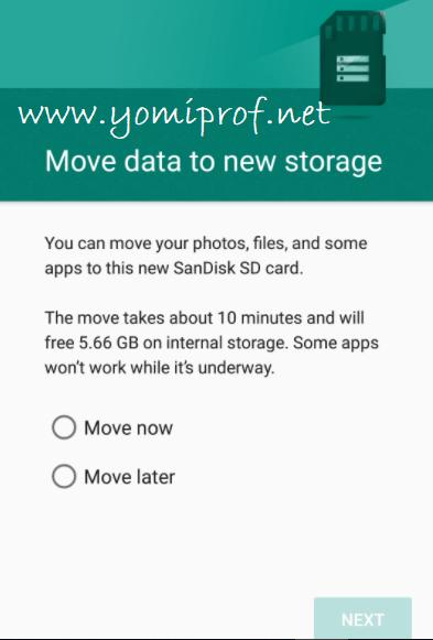 Android internal storage