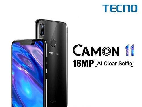 TECNO First AI Selfie Smartphone - Camon 11 & 11 Pro Launched