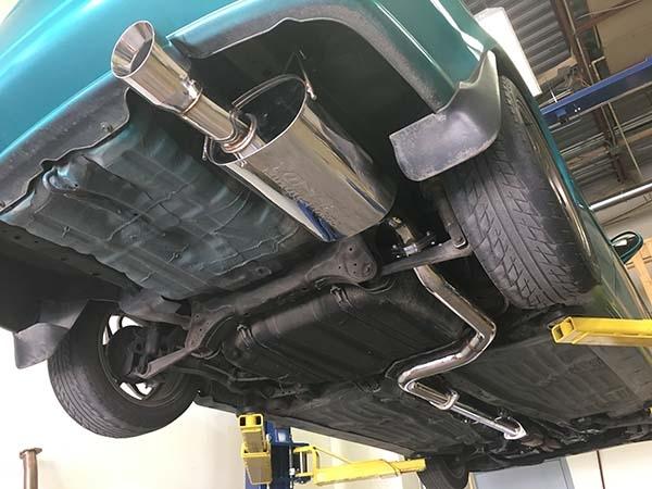 yonaka 1994 2001 integra 4dr sedan 3 catback exhaust ls rs gs