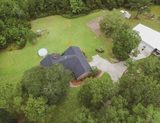 Our House Aerial Photo