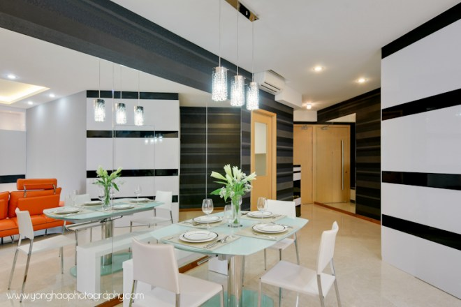 Contemporary Dining area ID by Artnovate, by YongHao Photography