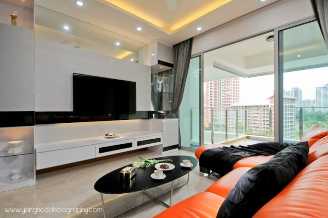 Contemporary Living room ID by Artnovate, by YongHao Photography