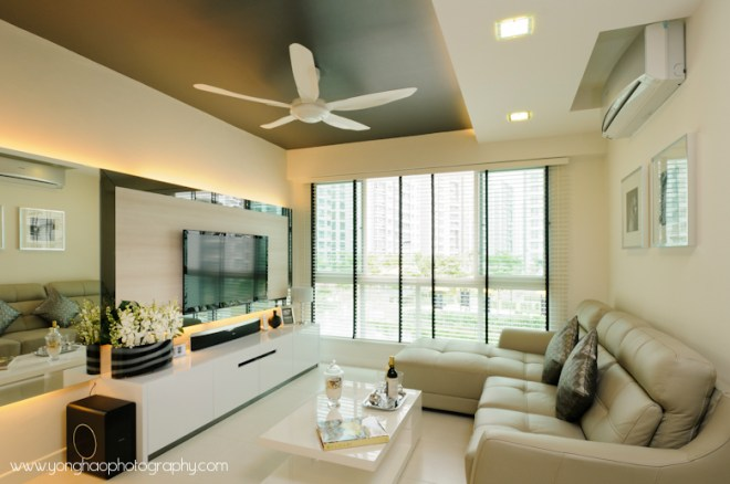 Living room ID by Icon Interior Design by YongHao Photography